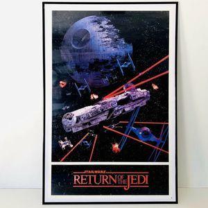 Star Wars Return Of The Jedi Poster RARE